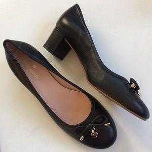 Like new Kate Spade leather heels